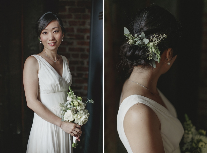 Minimalistic modern wedding at the Firehouse 8 by Heather Elizabeth Photography