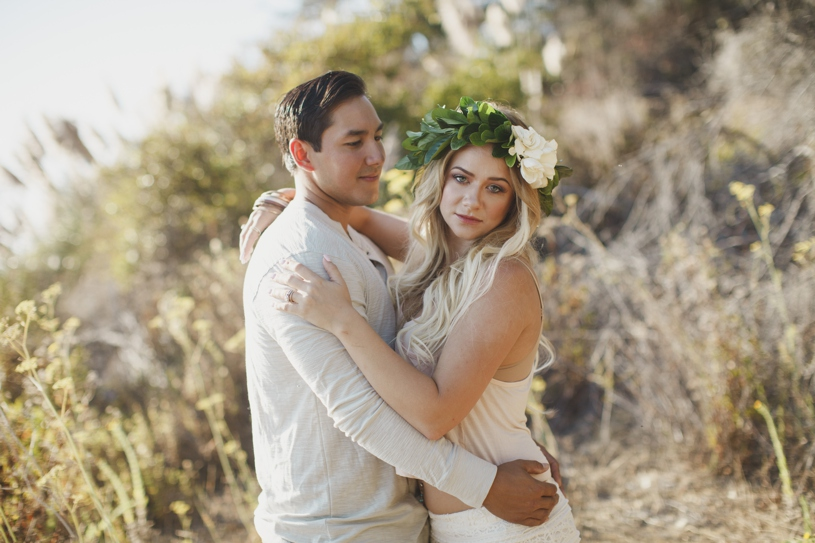 Bohemian engagement in Big Sur by Heather Elizabeth Photography