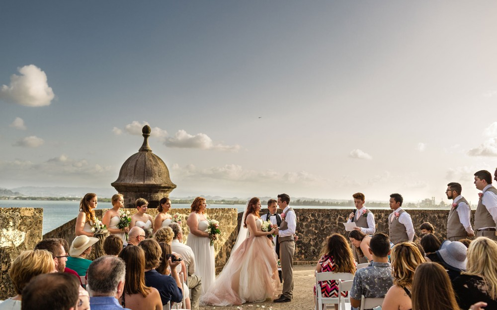 Destination Wedding Photography in Puerto Rico by Heather Elizabeth Photography