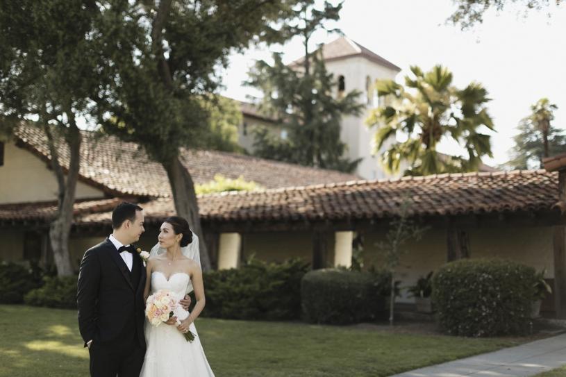 sweet spring DIY wedding at the Adobo Lodge in Santa Clara by Heather Elizabeth Photography