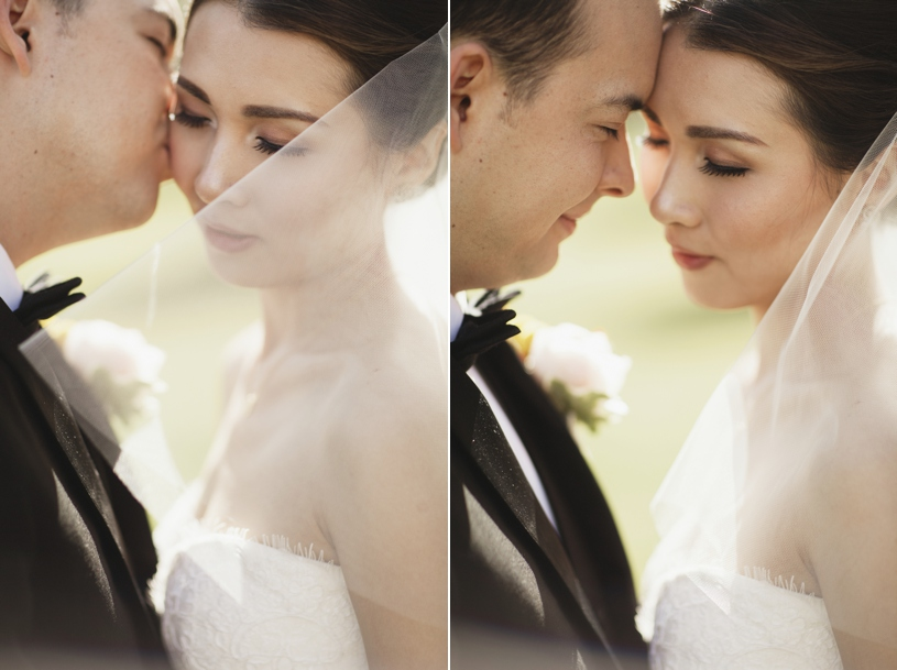 romantic wedding portrait of a bride and groom at the adobo lodge by heather elizabeth photography