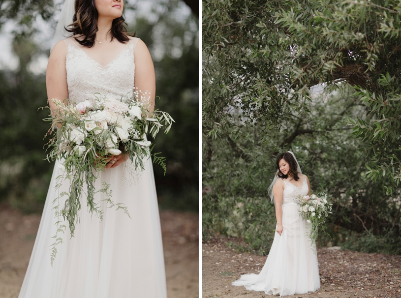 lush organic free style free people wedding florals at a wedding in San Carlos California by Heather Elizabeth Photography