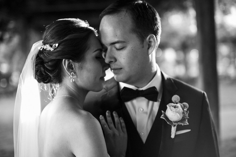 intimate bride and groom portrait at the adobo lodge by Heather Elizabeth Photography