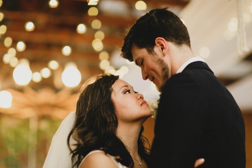 wedding reception at the williams barn in san carlos California by Heather Elizabeth Photography