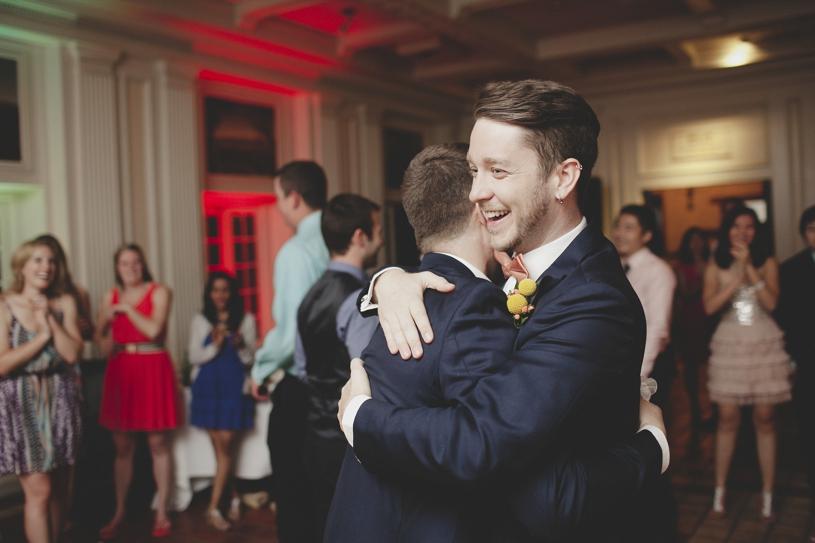 wedding reception at the Adobo Lodge in Santa Clara by Heather Elizabeth Photography