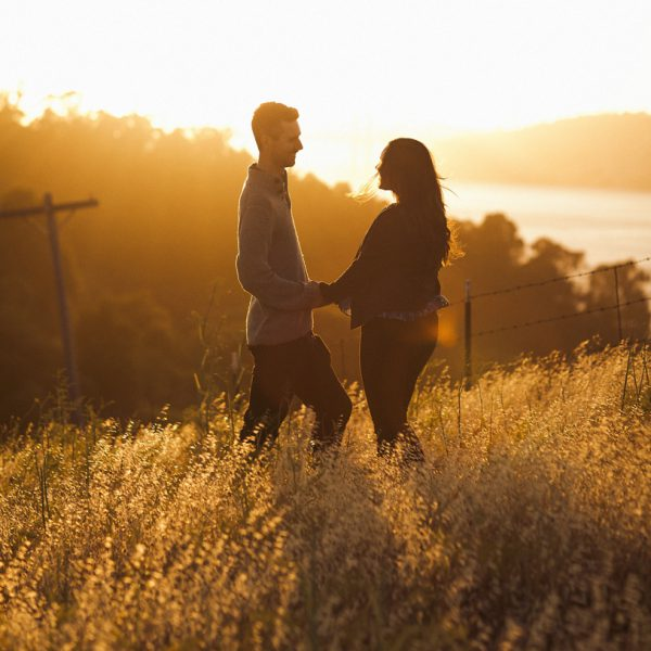 Monica + Kevin - Sunset Engagement Session at Carquinez Straight Regional Shoreline.