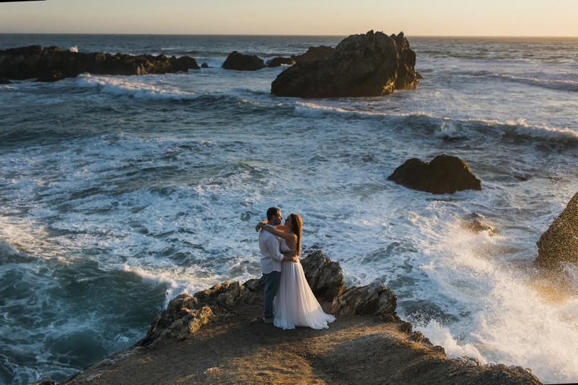 majestic wedding photography on the california coast of big sur by heather elizabeth photography