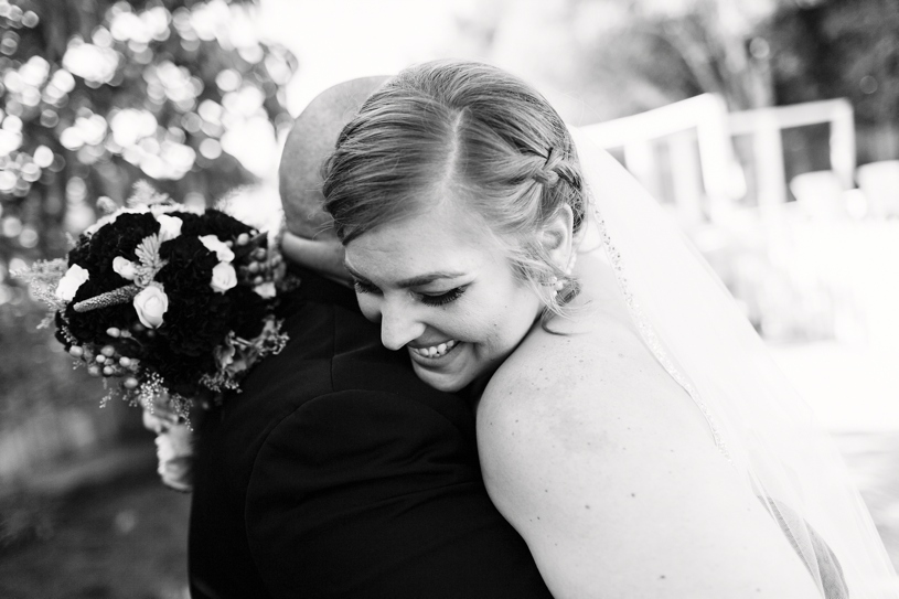 photo journalistic fine art portrait of a bride and groom on their wedding day in Burlingame, California by Heather Elizabeth Photography