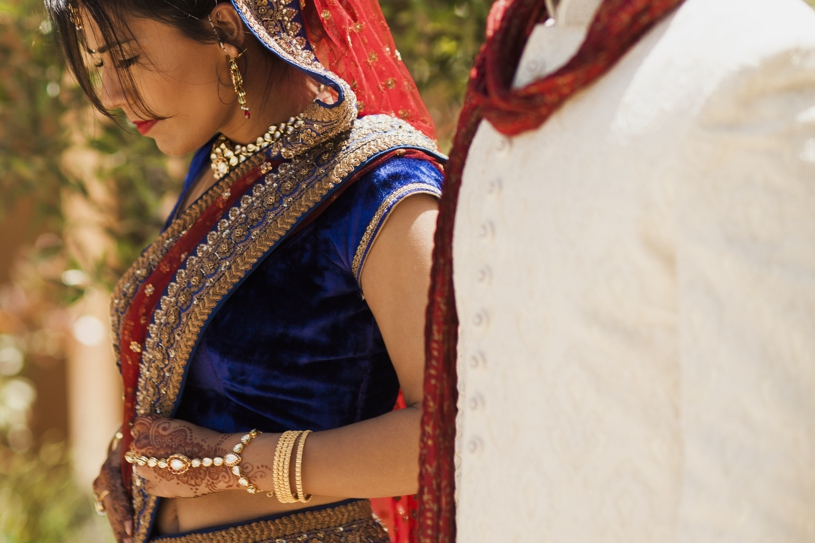A colorful traditional Indian wedding at the Meritage Resort in Napa California by Heather Elizabeth Photography