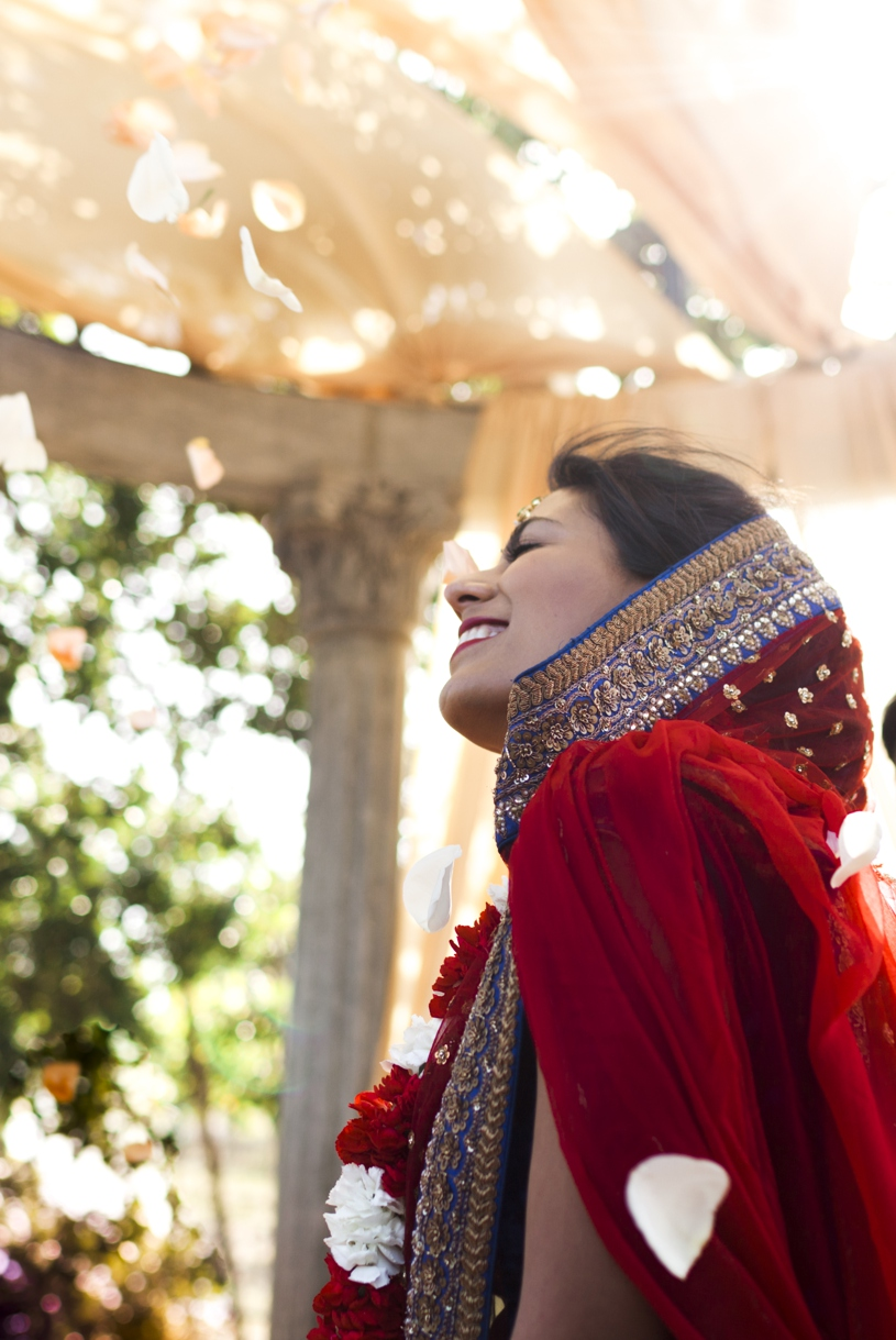 Emotional wedding photography from a traditional Indian Hindu wedding at the Meritage Resort in Napa California by Heather Elizabeth Photography