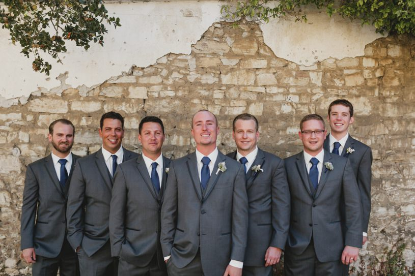 navy blue and grey grooms colors by heather elizabeth photography