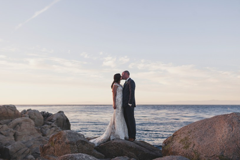 Lover's point Carmel by top wedding photographer Heather Elizabeth