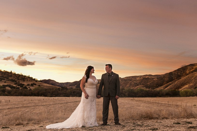 bar SZ ranch wedding pics