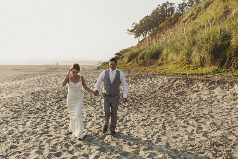 So Here Is A Few Of My Pretty Portraits Brittany And Mattia On Their Perfect Weather Beach Wedding In Aptos
