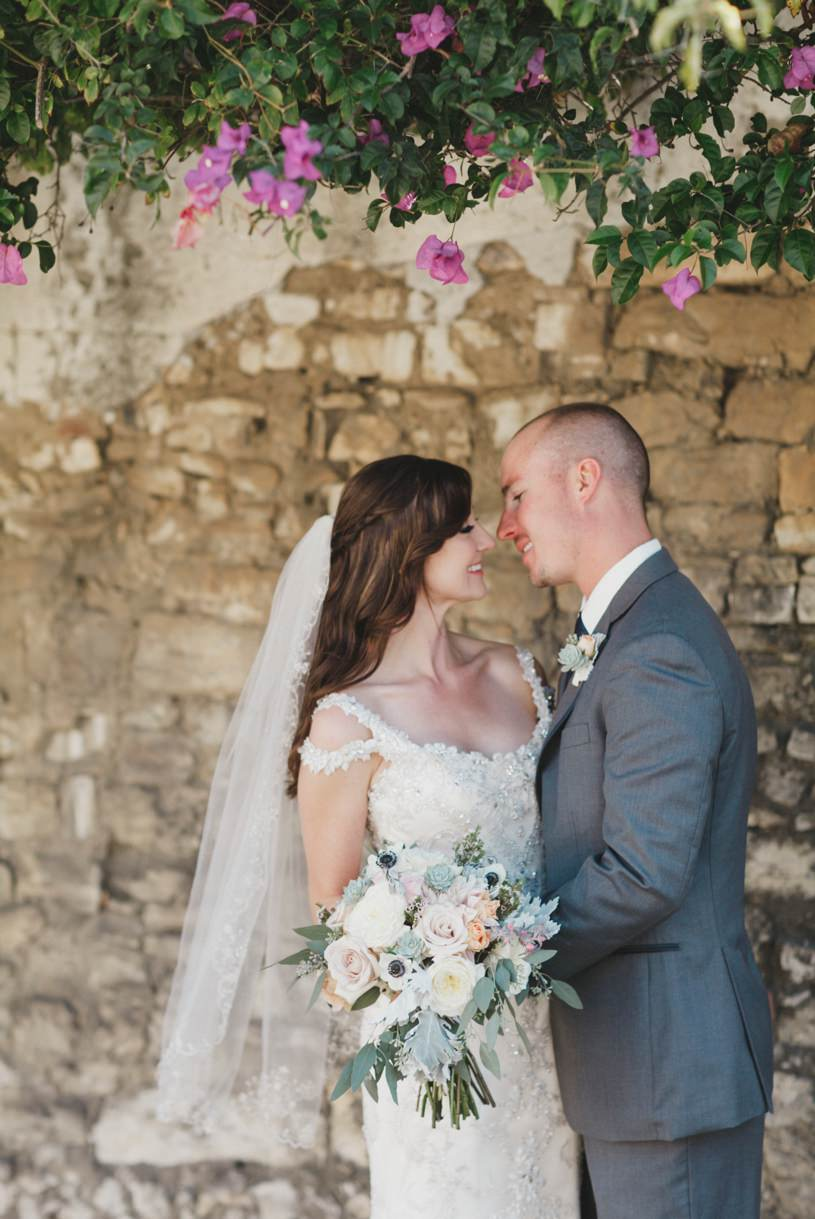 bride and groom portraits in Carmel by top wedding wedding photographer Heather Elizabeth