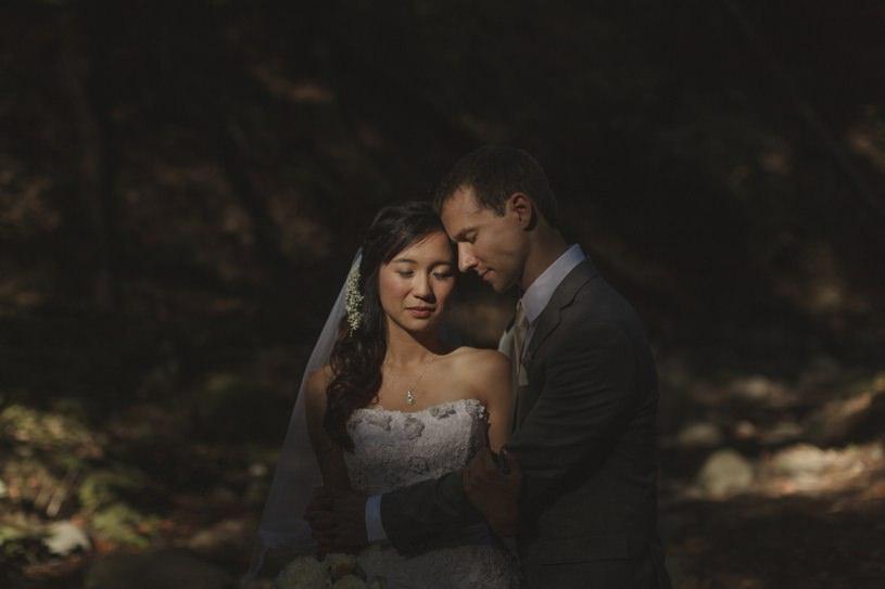 romantic saratoga springs wedding pics