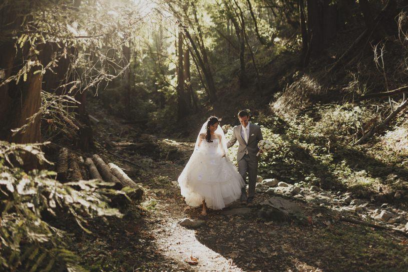 outdoor wedding venues saratoga california by heather elizabeth photography