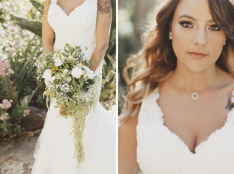 wildwood acres resort wedding pics with cascade wedding bouquet