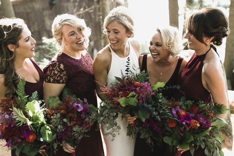 jewel tone wedding colors by top wedding photographer heather elizabeth