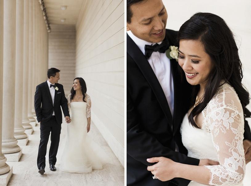 legion of honor wedding event by top san francisco wedding photographer heather elizabeth