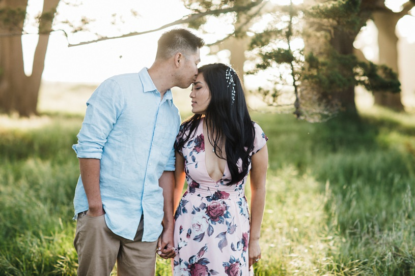 romantic and whimsical engagement photos
