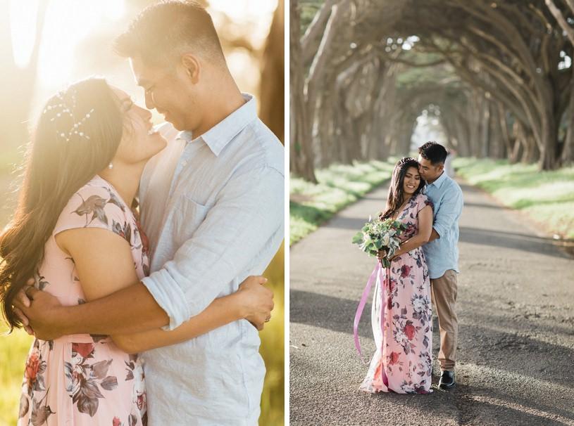 whimsical san francisco sunset engagement session by top wedding photographer Heather Elizabeth