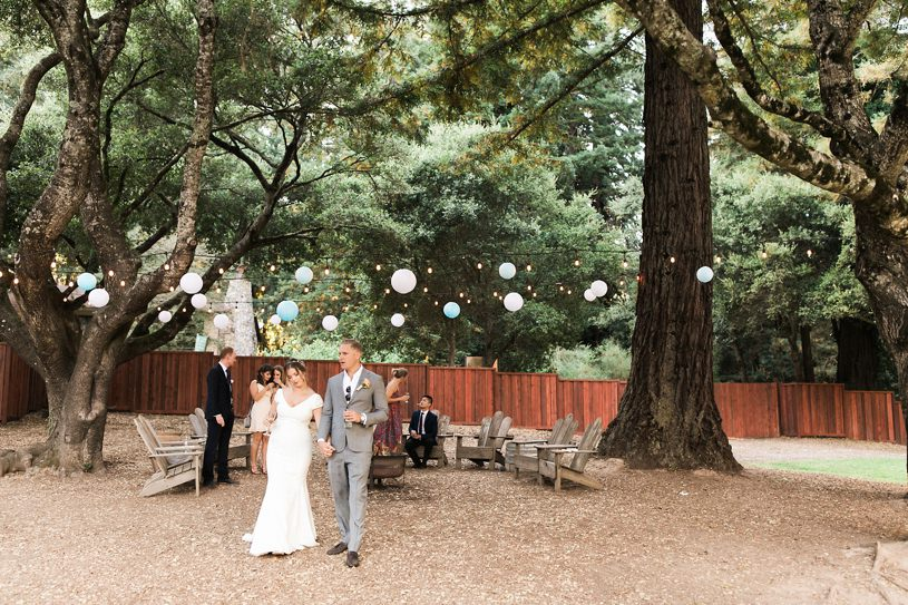 PRONOVIAS GOWN AT THE MOUNTAIN TERRACE WEDDING IN PALO ALTO BY HEATHER ELIZABETH