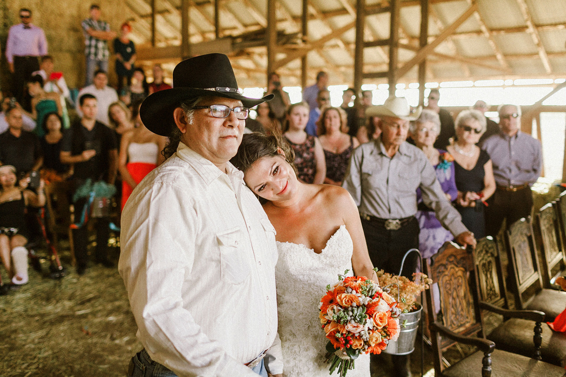 country barn California wedding pics