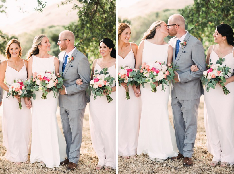 Diablo Ranch weddings pink and grey rustic wedding by heather elizabeth