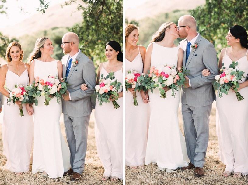 Diablo Ranch weddings pink and grey rustic wedding by heather elizabeth